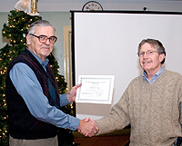 Gerry receives  150,000 Visual Observer Award