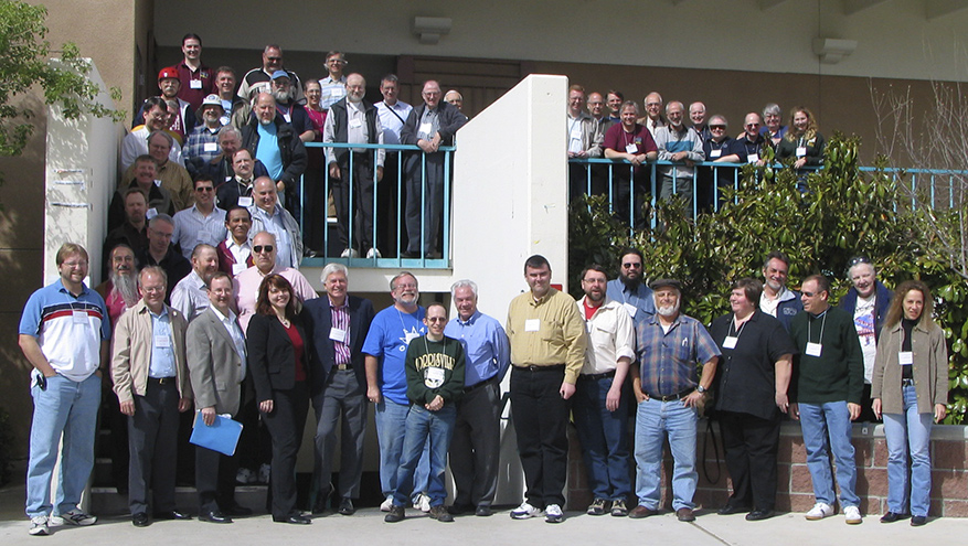 Group Photo, 94th Spring Meeting of the AAVSO, Las Cruces, New Mexico, March 2005